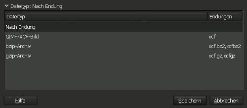 Gimp Save Image Format