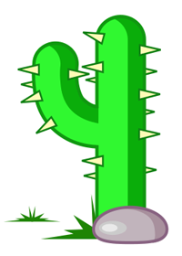 Inkscape Cactus form Path