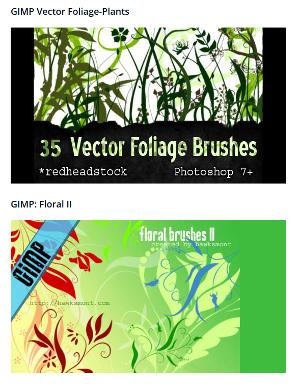Brushes aus dem Netz zum Download