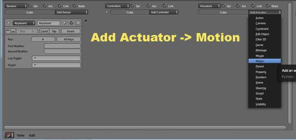 Actuator -> Motion