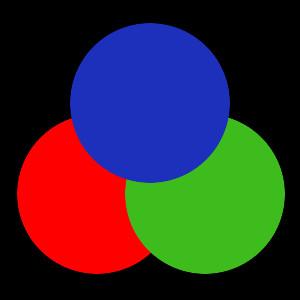 Farbkreise anordnen