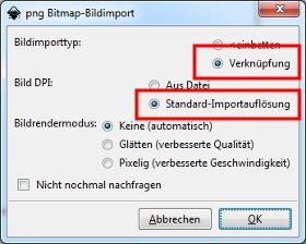 Typ: Verknüpfung - Auflösung: Standard