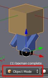 Objekt im Object-Mode