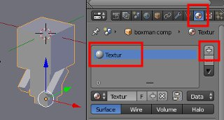 Bei Textur mit NEW neue Textur erstellen