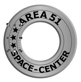 Inkscape Metal Logo