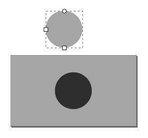 Kreis duplizieren, einfärben und ablegen