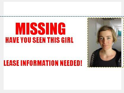Gimp Missing Postkarte