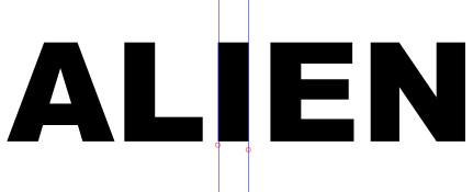"""""""i"""" dient als Referenz für Konturstärke"""