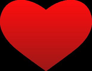 In der Form optimiertes Herz