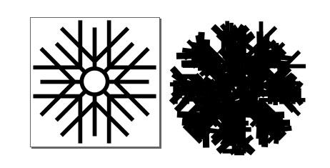 Snowflake Font Arbeitsdatei