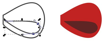 Inkscape Ribbon Tutorial