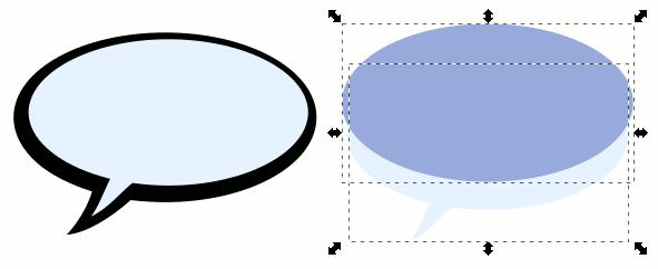 Inkscape SpeechBubble Part2