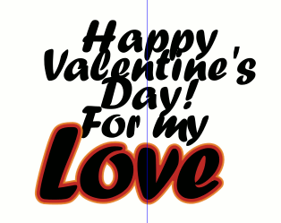 Inkscape Valentines Day