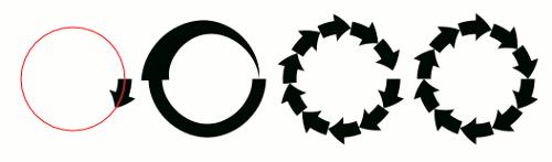 Inkscape Muster enlang Pfad II