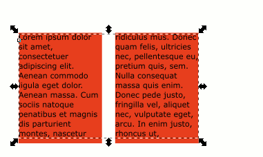 Inkscape Text Fields