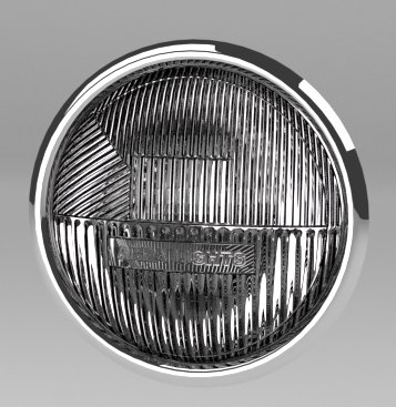 Blender Car Headlight