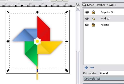 Inkscape Pinwheel II