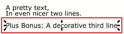Inkscape Split Text