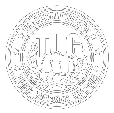 Vector Boxing Logo Path