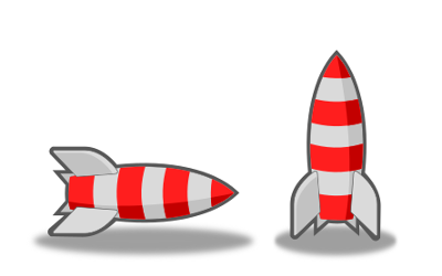 Stylish Inkscape Rocket
