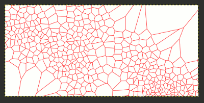 Gimp Copy & Move Path, Voronoi
