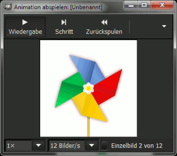 Pinwheel Animation