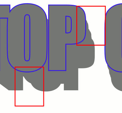 Inkscape Arcade styled Text