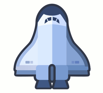 Inkscape Space Shuttle Deluxe