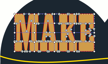 Inkscape Sixties Poster Font