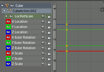 Blender Automatic Keyframe