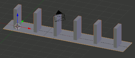 Blender Domino Parcours