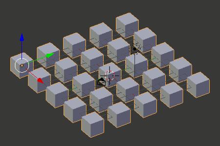 Blender Array 1