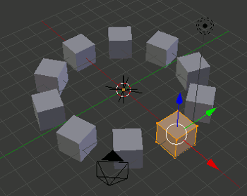Blender Array 3