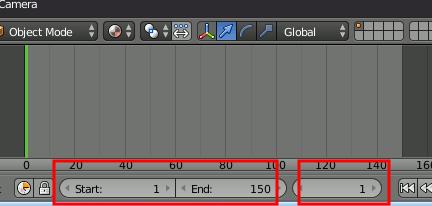 Blender Timeline