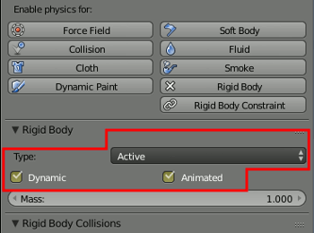 Blender Rigid Body 2
