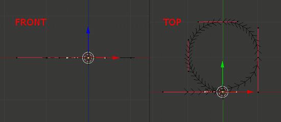 Blender Rollerball Path