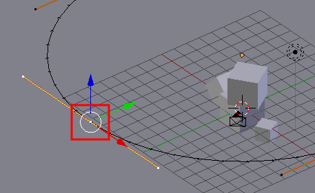 Blender Kamera along Path