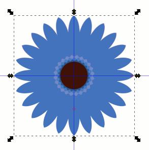 Inkscape Blume