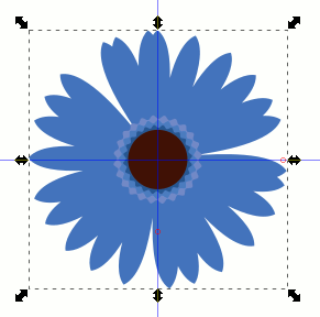 Inkscape Flower