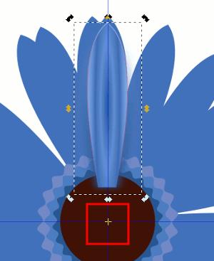 Inkscape Blütenblätter