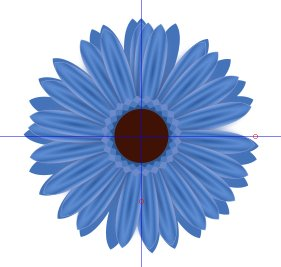 Inkscape Flowers