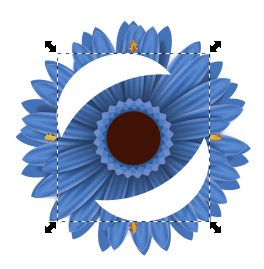 Inkscape living Flowers