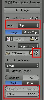 Blender BG-Images