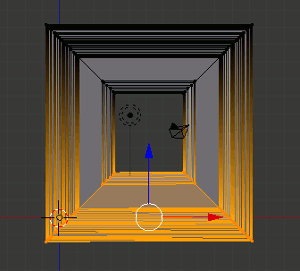 Blender Rahmenprofil