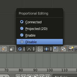 Proportional Editing Disable