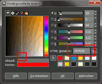 Gimp Color