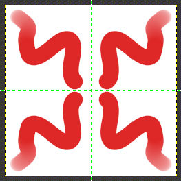 Gimp kombinierte Symmetrien