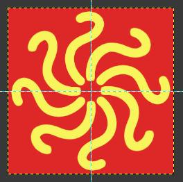 Gimp Mandala Vieleck