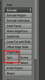 Blender Spin