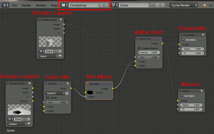 Blender Transparent Nodes
